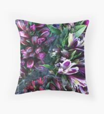 Alstroemeria Array Floor Pillow