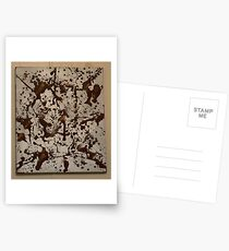 Brown To Silver Postcards