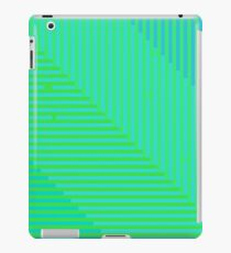 Psychedelic optical shoegaze lines - Cool Mint iPad Case/Skin