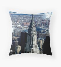Crysler Model Throw Pillow