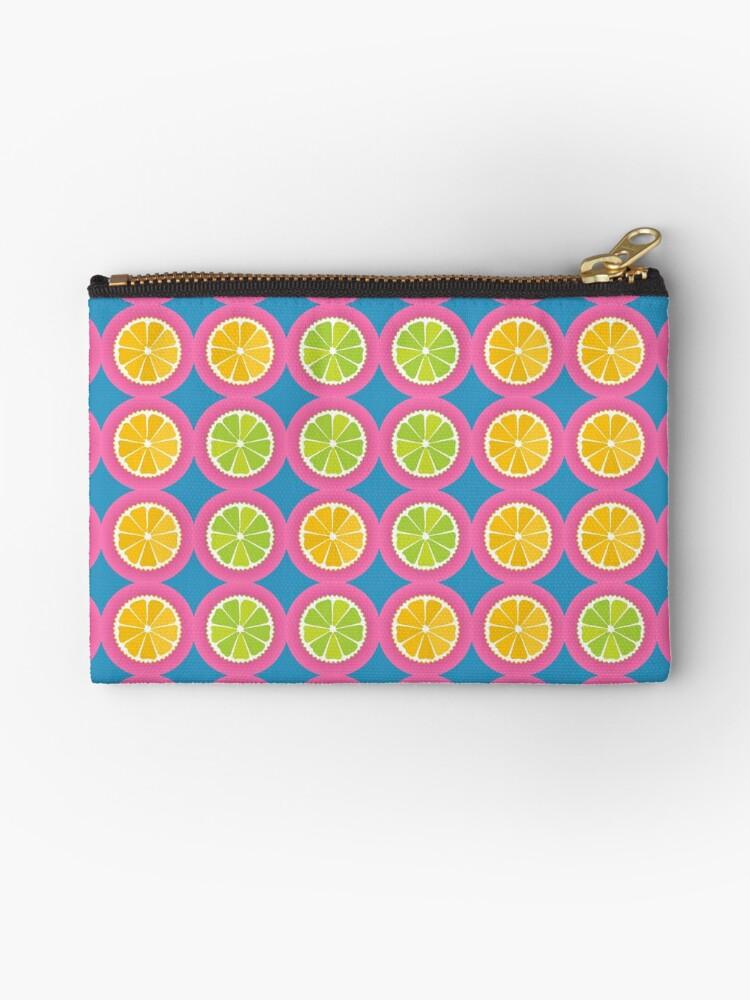 Colorful fruit pattern by Gaspar Avila