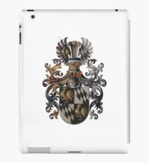 Transparent Background - Red Coat of Arms  iPad Case/Skin