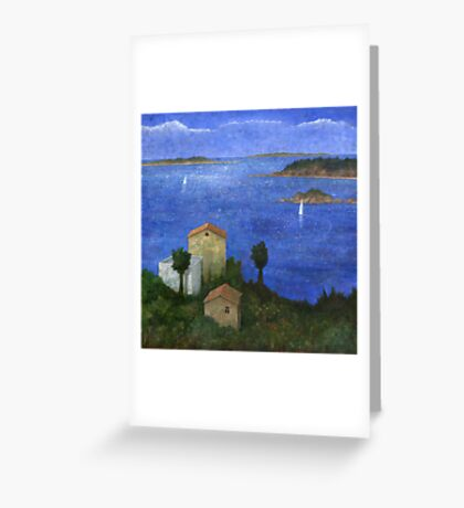 Ocean View II Greeting Card