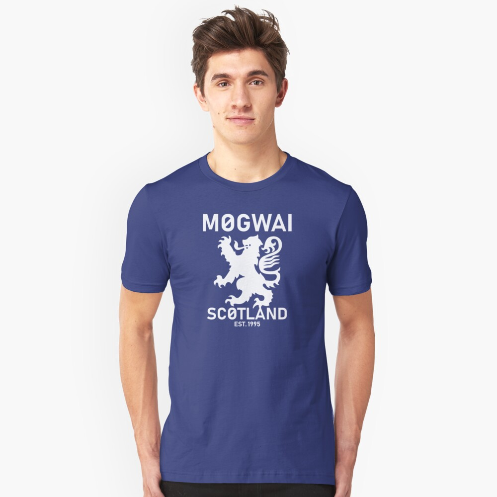 Mogwai Schottland Slim Fit T-Shirt