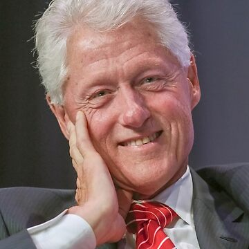 Bill Clinton Great Smile by SuperMerch
