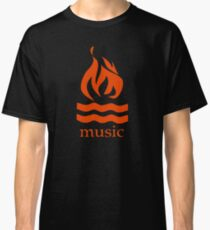 Hot Water Music Flame Classic T-Shirt