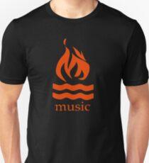 Hot Water Music Flame Unisex T-Shirt