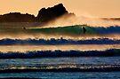 Sunset Wave by Garth Smith