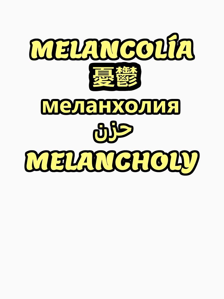 Melancholische Übersetzung von SirCrazyPenguin