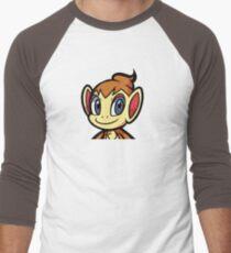 chimchar Men's Baseball ¾ T-Shirt