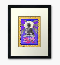 The Buddha in the Heart Framed Print