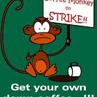 Coffee Monkey on STRIKE!! by fridley
