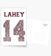 """Isaac """"Quote"""" Jersey V2.0 Postcards"""