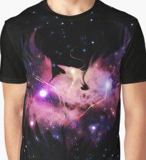 Phoenix Galaxy Graphic T-Shirt