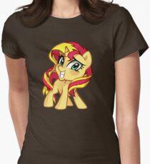 Sunset Shimmer Women's Fitted T-Shirt