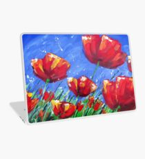 Summer Poppies Laptop Skin