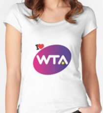 I love Wta Women's Fitted Scoop T-Shirt