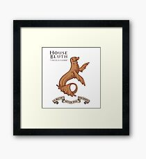 Bluth Family Seal Framed Print