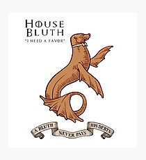 Bluth Family Seal Photographic Print