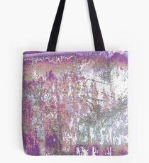 Mauve Grunge Crackle Tote Bag
