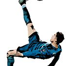 That Famous Bicycle Kick by damian-13