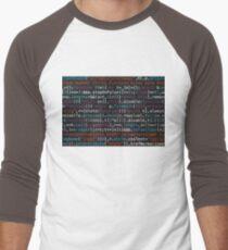 source code Men's Baseball ¾ T-Shirt