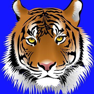 Tiger by Wallfower