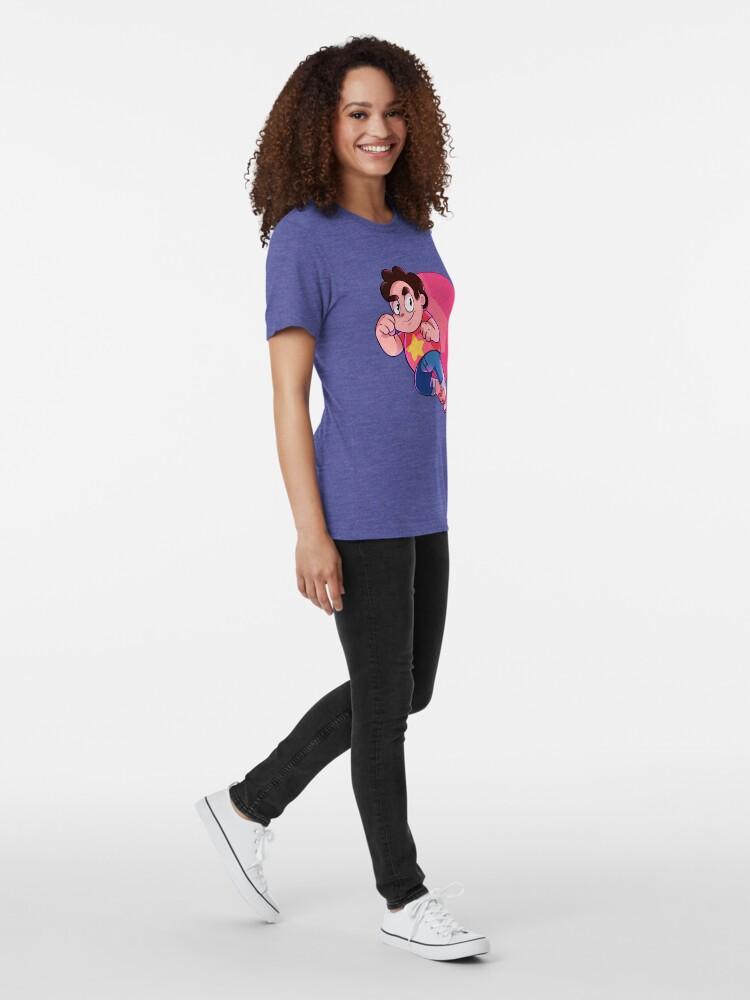Alternate view of Steven Universe Tri-blend T-Shirt