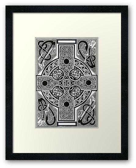 Celtic Cross by morgansartworld