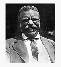 Lachendes Theodore Roosevelt Foto Fotodruck