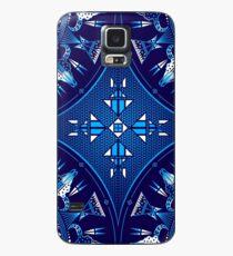 Buffalo Gathering Blue Case/Skin for Samsung Galaxy