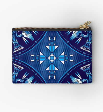 Buffalo Gathering Blue Studio Pouch