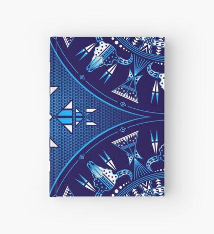 Buffalo Gathering Blue Hardcover Journal