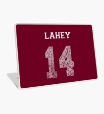 """Isaac """"Quote"""" Jersey Laptop Skin"""