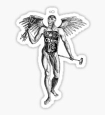 Flayed Man Spirit of the Occult Sticker