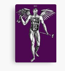 Flayed Man Spirit of the Occult Canvas Print