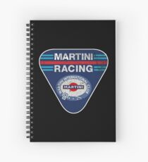 martini racing rally Spiral Notebook
