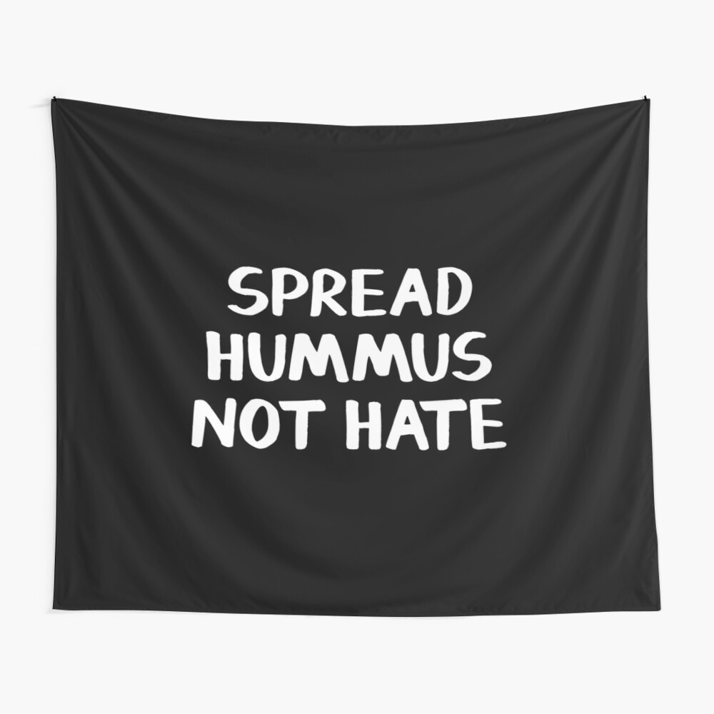 Spread Hummus nicht hassen Wandbehang