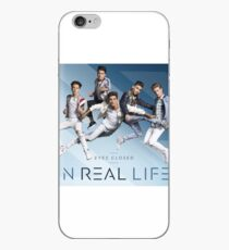 In Real Life Eyes Closed iPhone Case