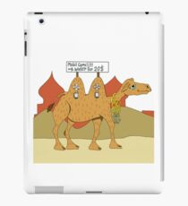 Mobile Camel iPad Case/Skin