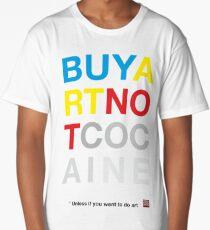 Buy Art Not Cocaine Camiseta larga