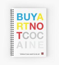 Buy Art Not Cocaine Cuaderno de espiral