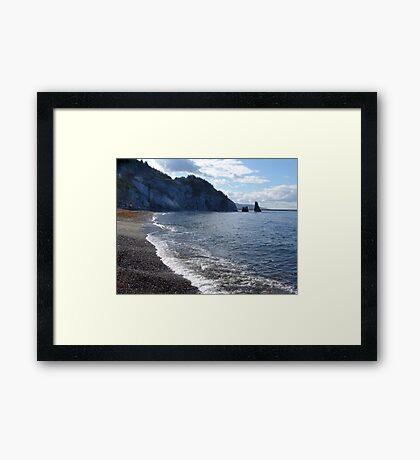 Pilar Rock, Cabot Trail Framed Print