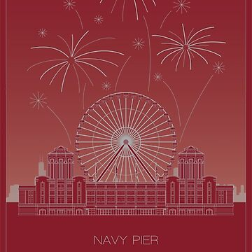 Navy Pier by scbb11Sketch
