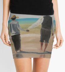 Downton Abbey's Mrs. Hughes and Mr. Carson Mini Skirt