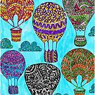 Colorful Dirigibles  by RobynLee