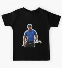 Tiger Woods - Celebrity (Oil Paint Art) Kids Tee