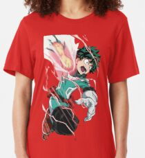 Deku's Might Slim Fit T-Shirt