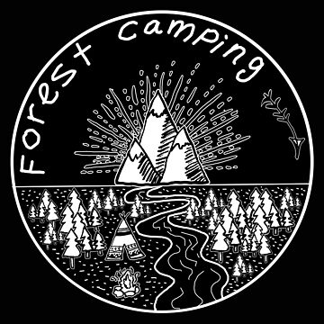 Forest Camping  by shashira