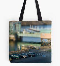 Tiny Marina Parking Tote Bag